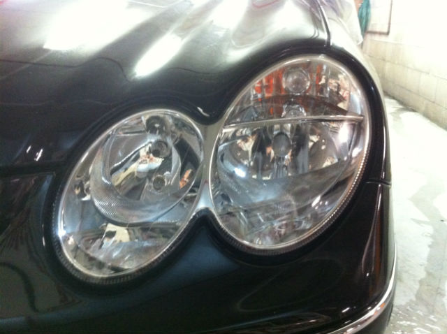 Mercedes Headlight Repair Restoration Gold Coast