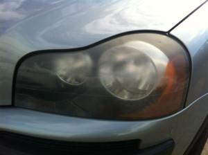 Volvo Headlight Repairs Restoration Bumper Repairs Gold Coast
