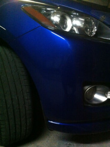 Bumper paint Repairs Gold Coast Mazda CX7