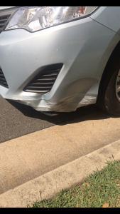 Mobile Bumper Bar repairs Gold Coast 0402029277 Call Shannon Today