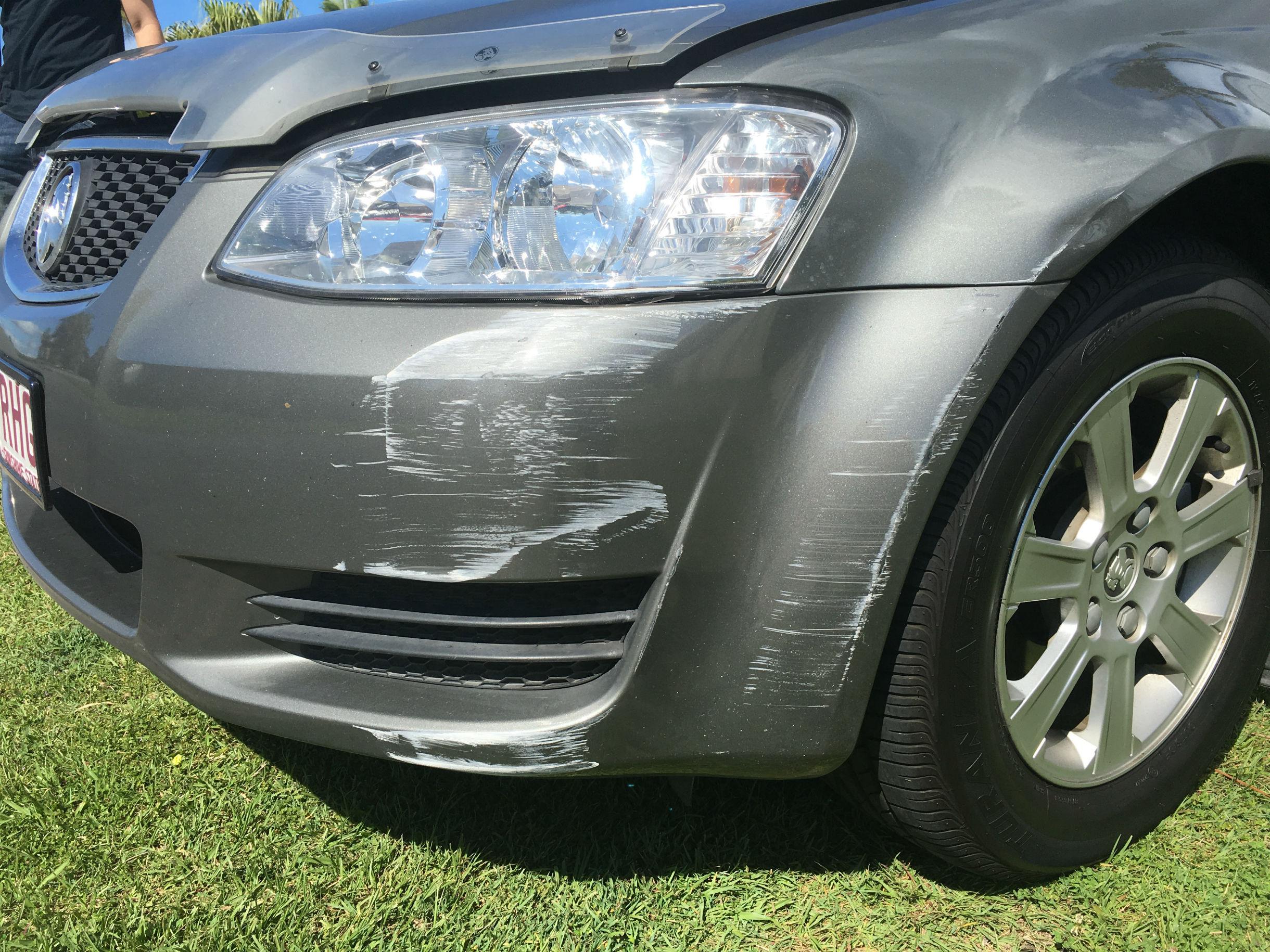 Holden Bumper Repair Colortech Gold Coast 0402029277