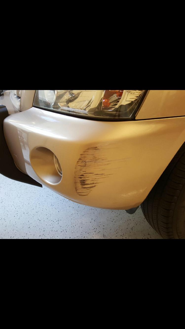 Onsite Bumper Bar Fix and Repairs Gold Coast 0402029277
