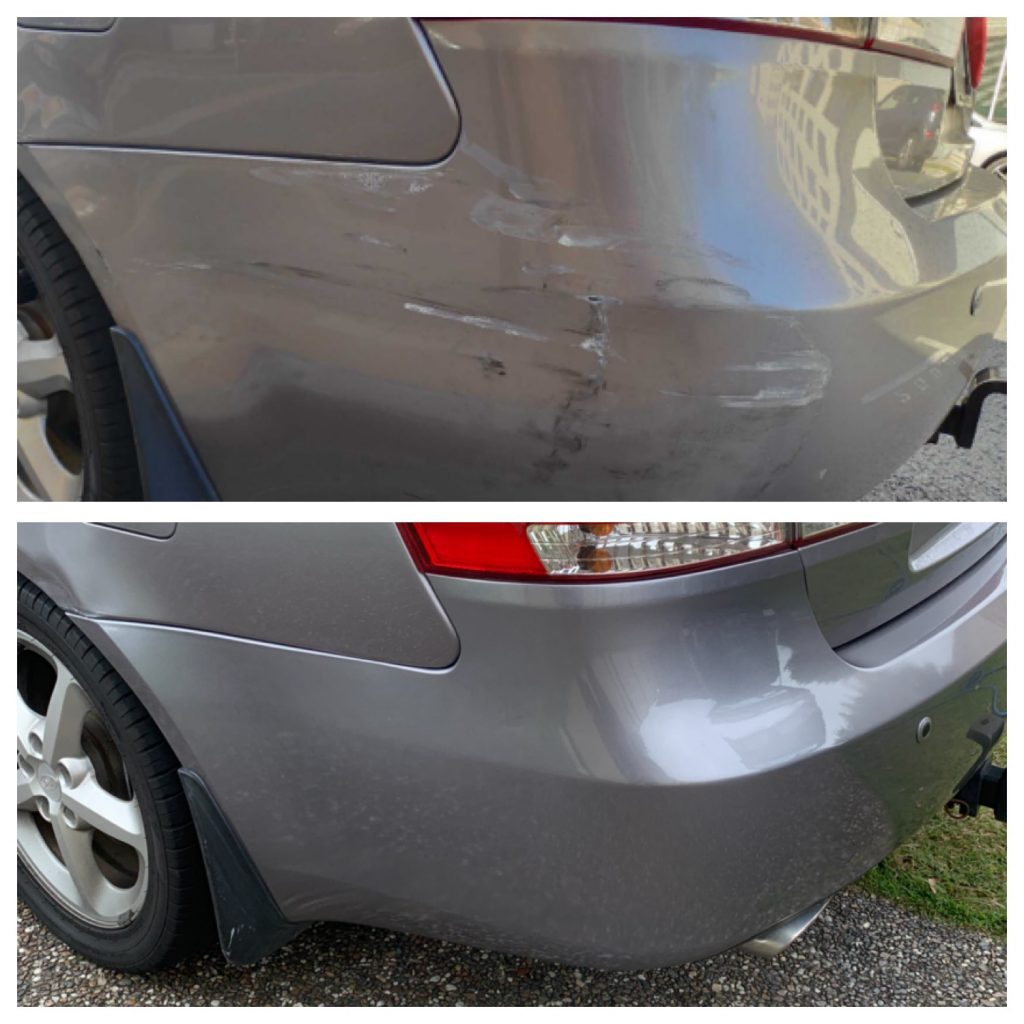 Onsite Same Day Bumper Repairs Gold Coast 0402029277