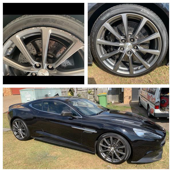 Aston Martin Alloy Rim Repairs Gold Coast 0402029277