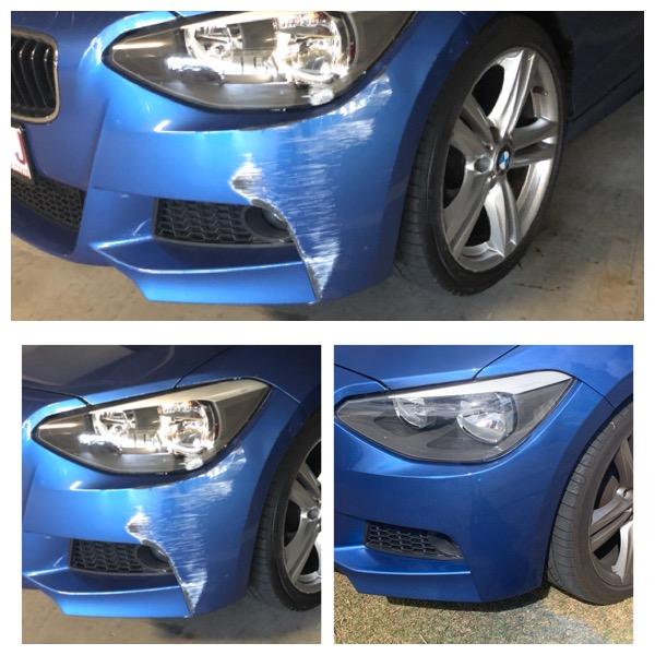 Mobile onsite BMW bumper bar scratch repairs 0402029277