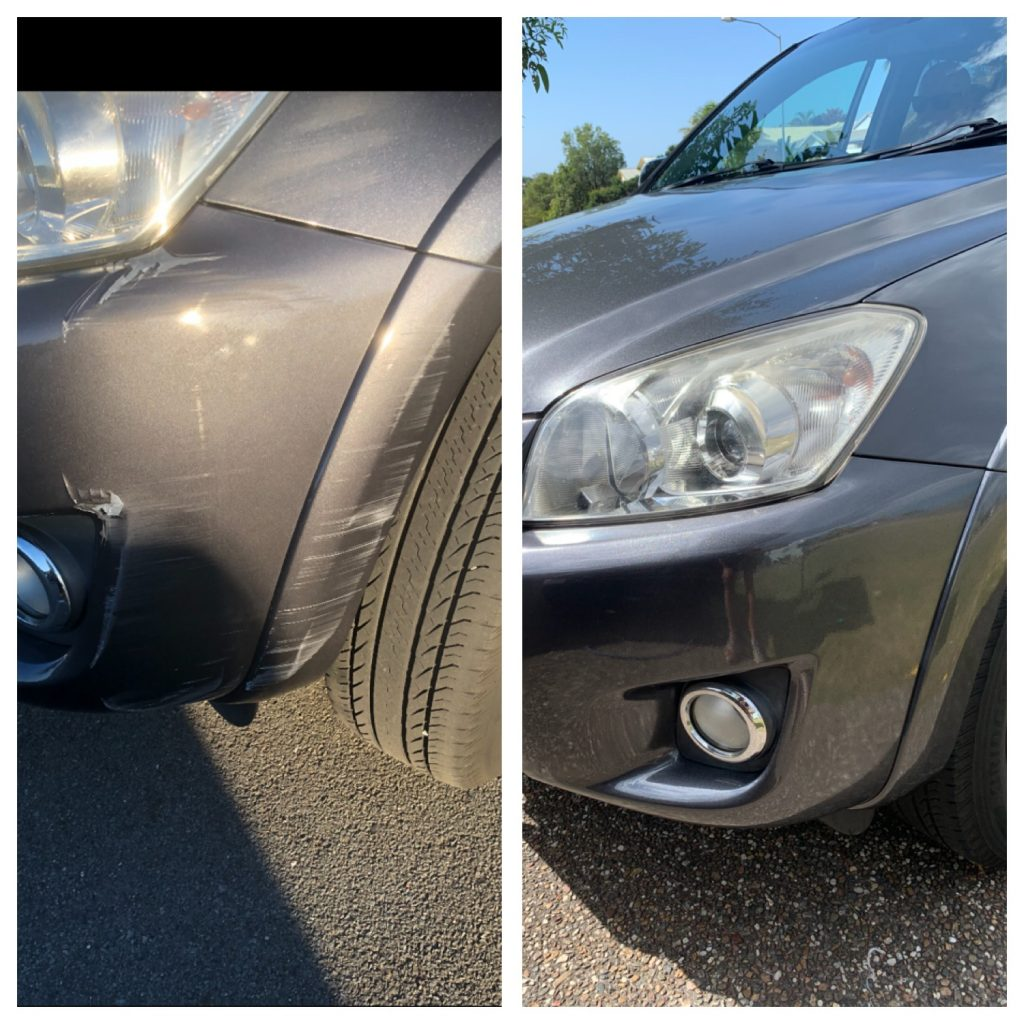 Onsite Bumper Bar Scratch Repairs Gold Coast FREE Qoutes 0402029277