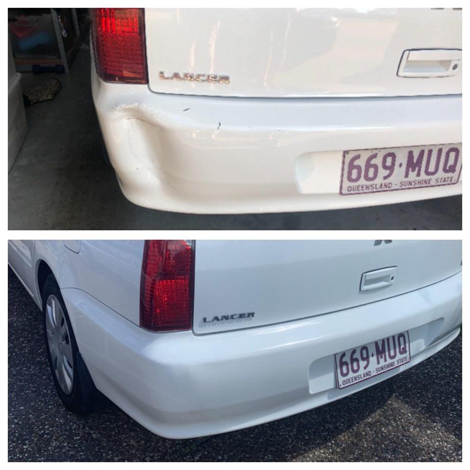 Mitsubishi Bumper Bar Repair Gold Coast 0402029277
