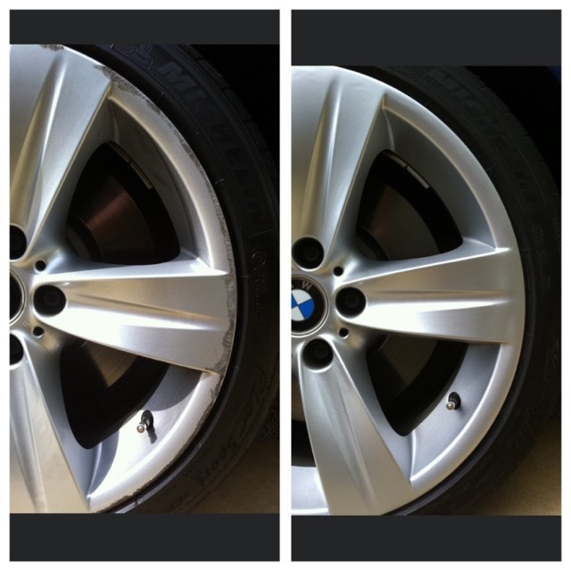 BMW Alloy Wheel Repair Gold Coast 0402029277
