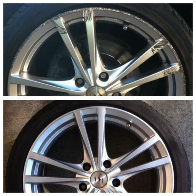 Lexus Alloy Wheel Repair Gold Coast 0402029277