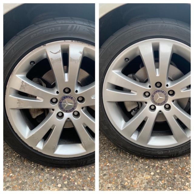 Mercedes Alloy Wheel Repairs Gold Coast 0402029277