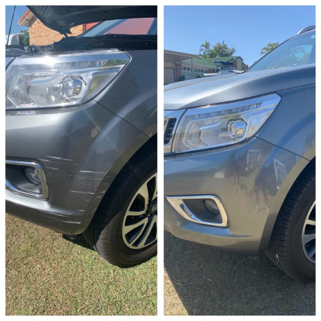 Mobile Bumper Bar Scrape Repairs Gold Coast 0402029277