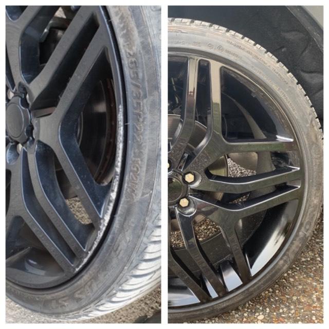 Range Rover Alloy Wheel Repairs Gold Coast 0402029277