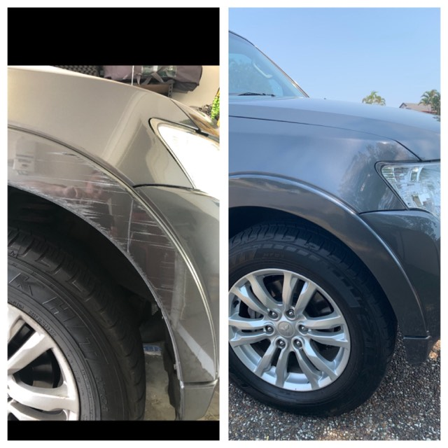 Mitsubishi Bumper Fix Gold Coast