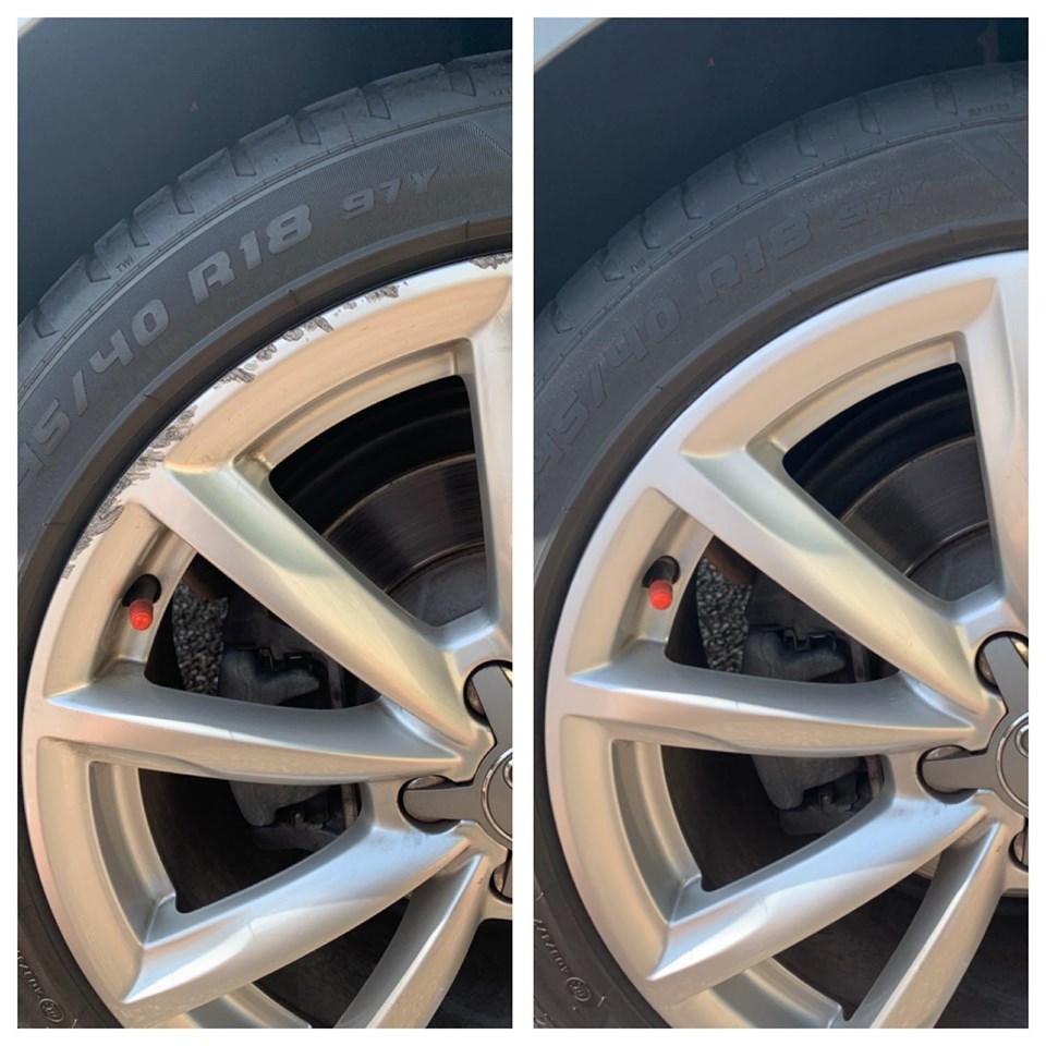 Audi wheel repair Gold Coast 0402029277