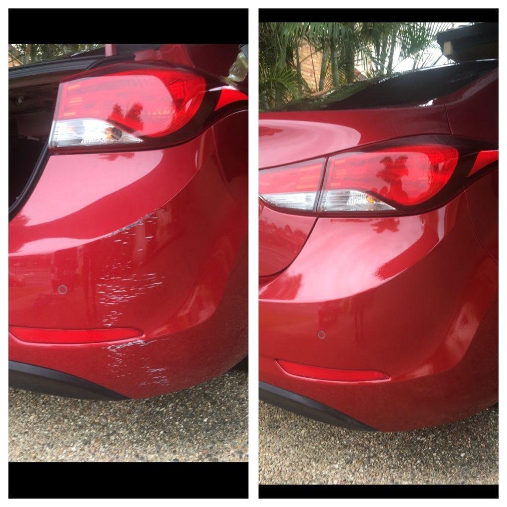 Scratched bumper bar Gold Coast 0402029277