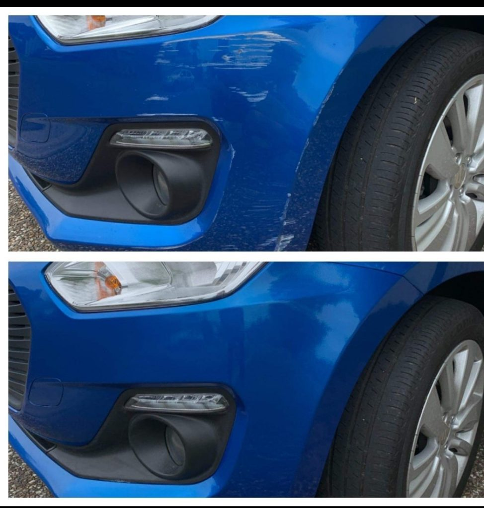 Bumper scratch repairs Gold Coast 0402029277