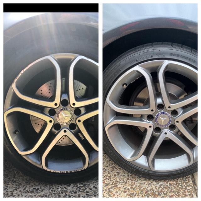 Mobile Mercedes Wheel Repair Gold Coast 0402029277