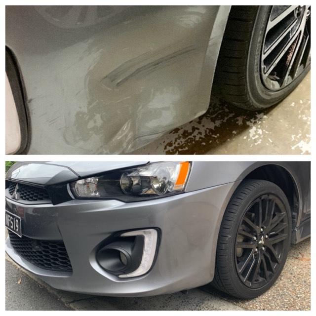 Mobile bumper bar repair Gold Coast 0402029277