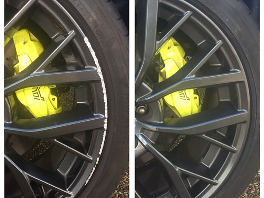 Scratched Alloy wheel repairs 0402029277