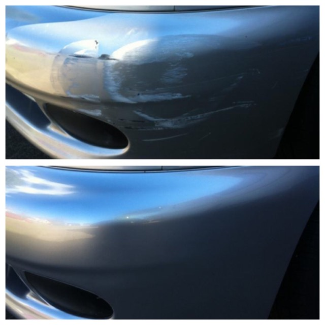 Damaged Bumper Bar Repair Gold Coast 0402029277