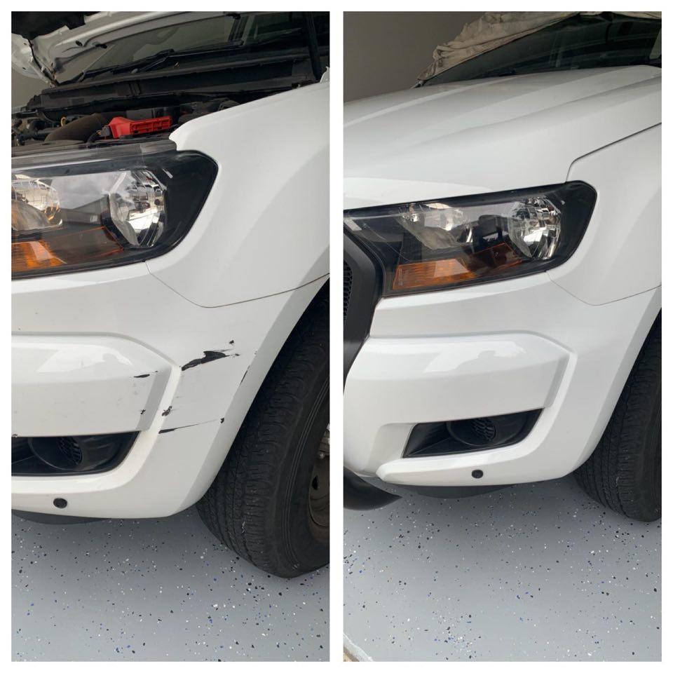 Ford Ranger Bumper Repair Gold Coast 0402029277