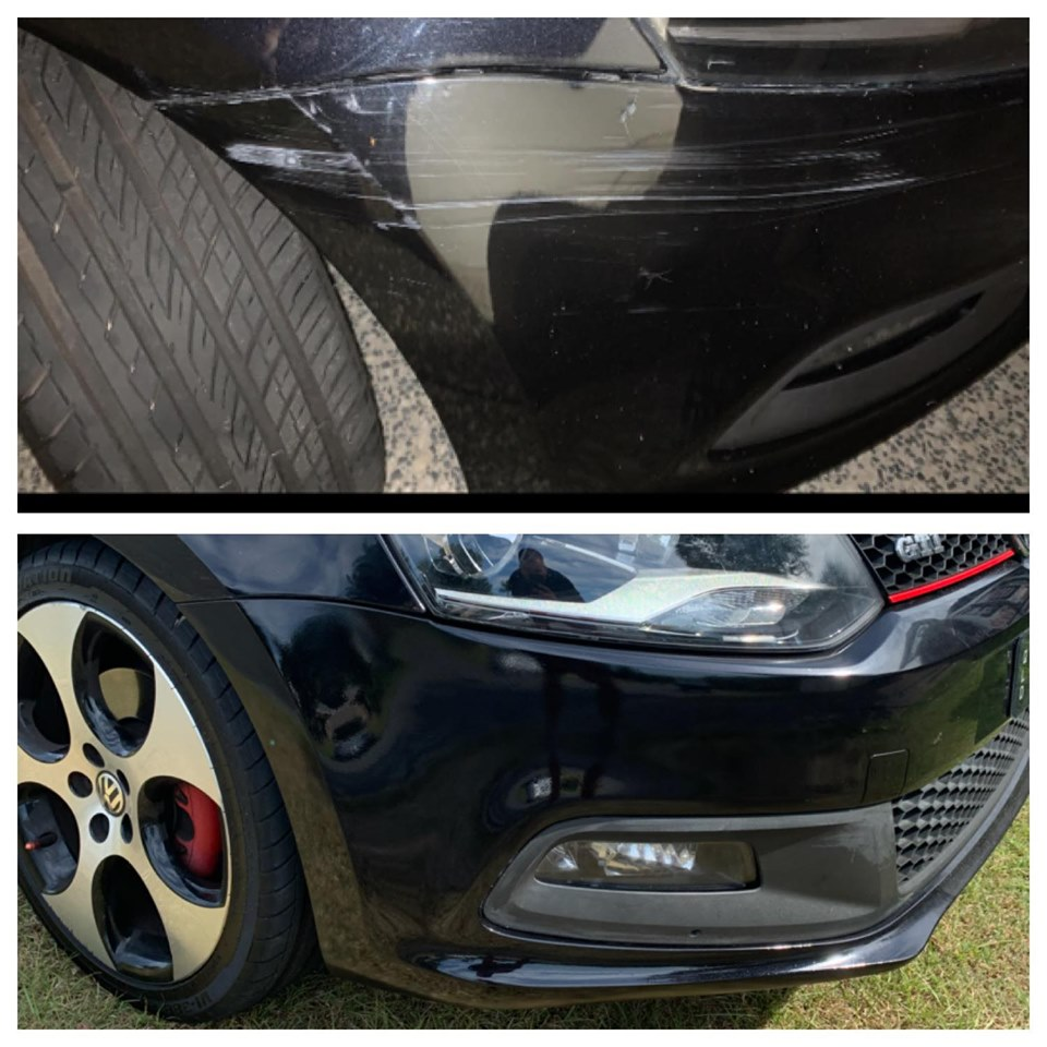 Mobile Bumper Repairs Gold Coast 0402029277