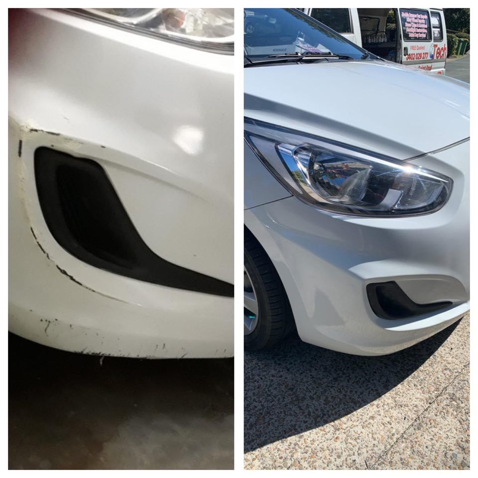 Mobile Bumper Bar Repairs Gold Coast 0402029277