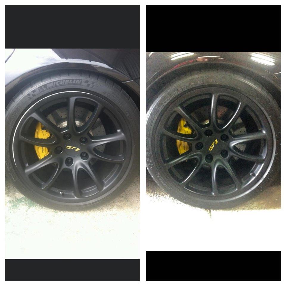 Porsche Wheel Repair Gold Coast 0402029277