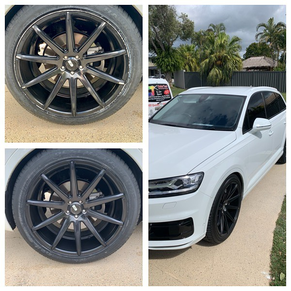 Audi Wheel Repairs Gold Coast 0402029277