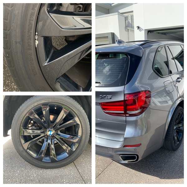 Mobile BMW Wheel Repairs Gold Coast 0402029277