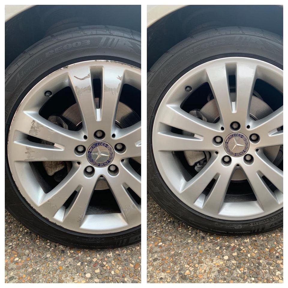 Mercedes Alloy Wheel Repairs Gold Coast 0402029277