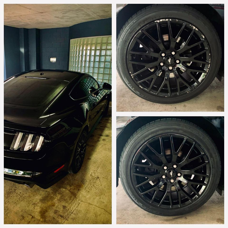 Mustang Wheel Repairs Gold Coast 0402029277