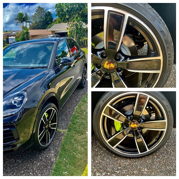 Porsche Wheel Repairs Gold Coast 0402029277