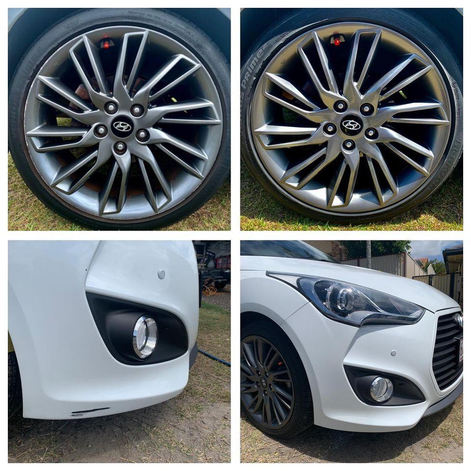 Hyundai Bumper Repairs Gold Coast 0402029277