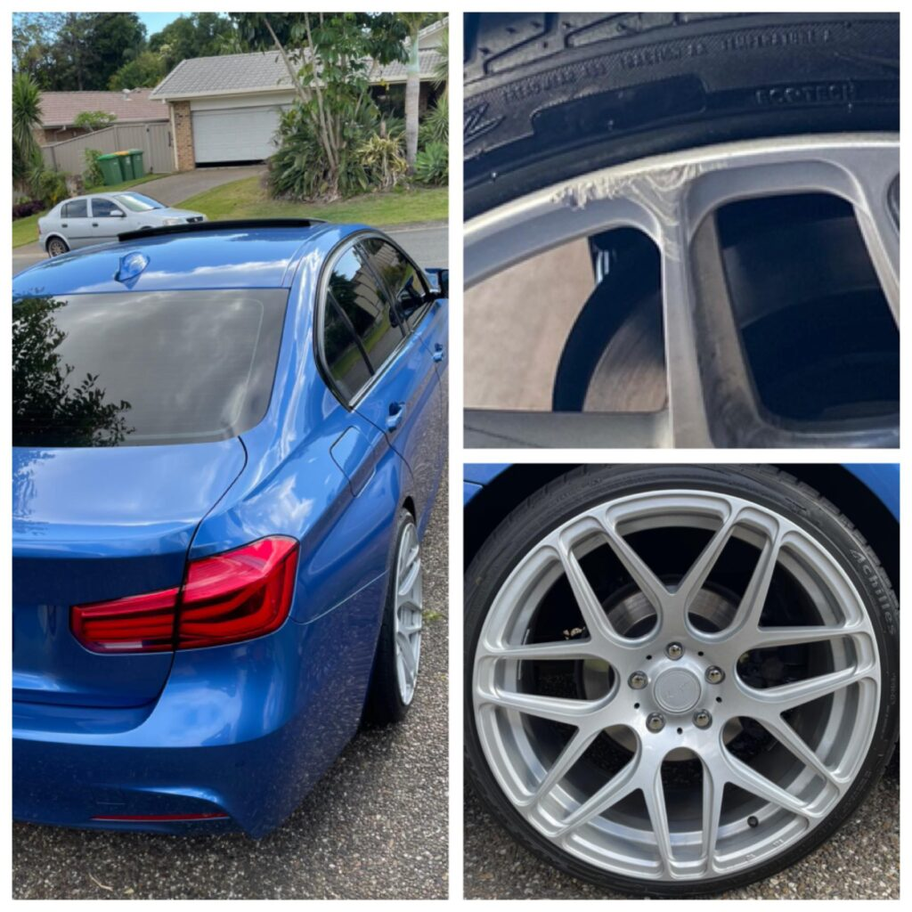 Mobile BMW Wheel repairs Gold Coast 0402029277