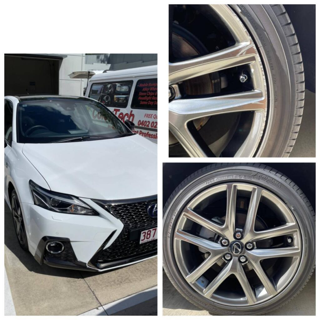 Gold Coast Lexus wheel repairs Gold Coast 0402029277
