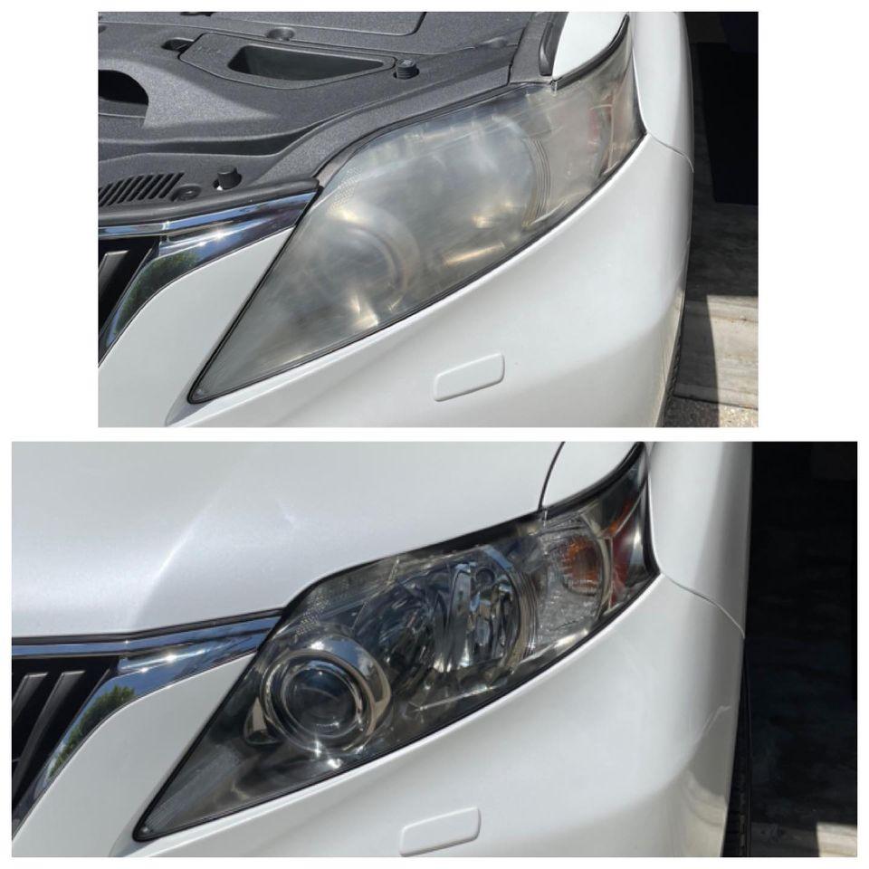 cloudy headlight repair Gold Coast 0402029277