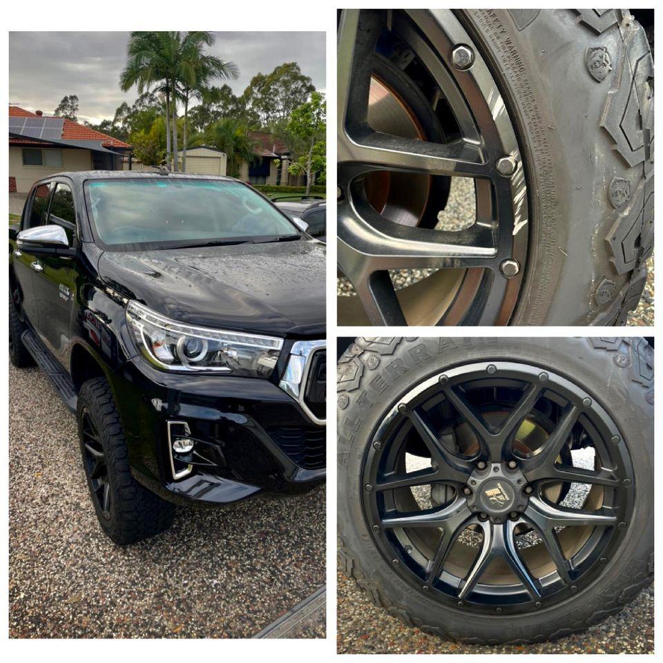 hilux wheel repairs Gold Coast 0402029277