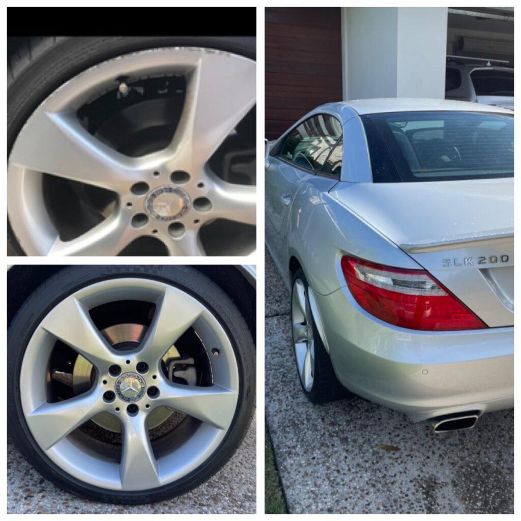 Mercedes wheel repairs gold coast 0402029277