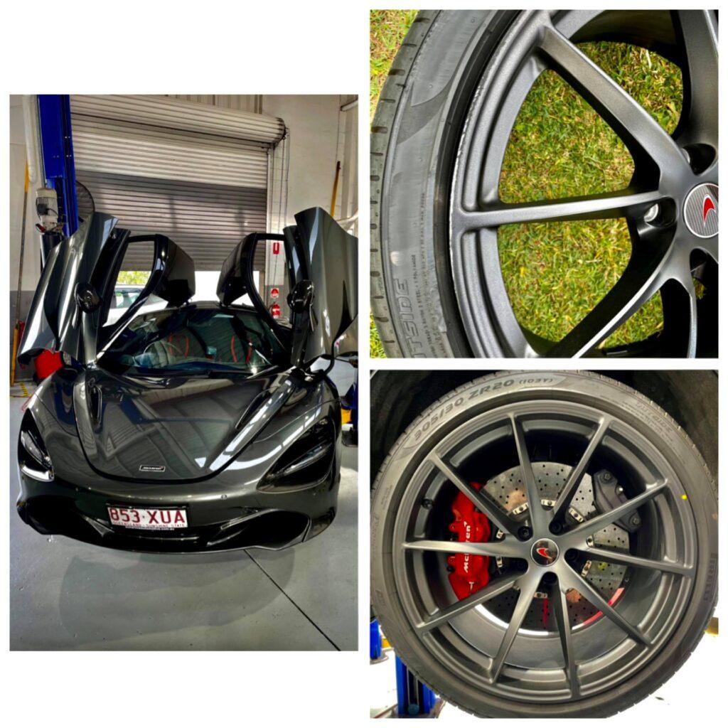 McLaren Alloy Wheel Repairs Gold Coast 0402029277