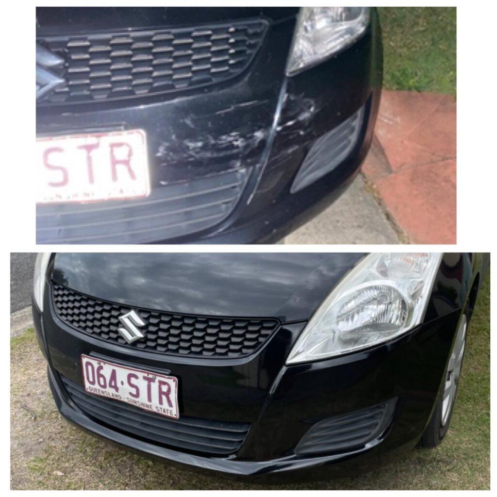 Onsite bumper repairs Gold Coast 0402029277