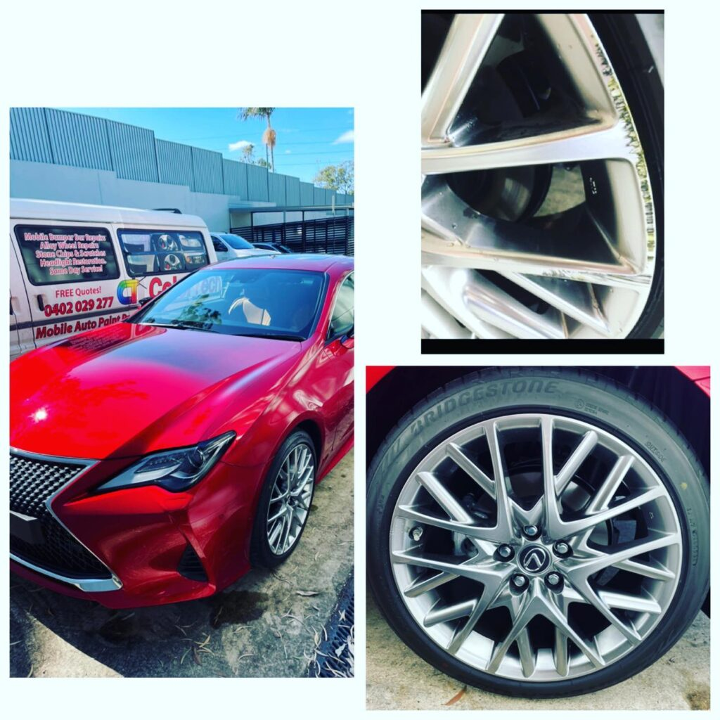 gold coast Lexus wheel repair Gold Coast 0402029277